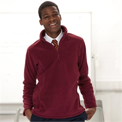 Russell Adult's 1/4 Zip Outdoor Fleece Top