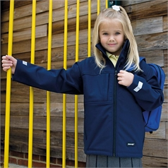 Result Kid's Classic Softshell 3 Layer Jacket