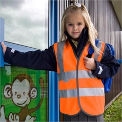 Result Kid's Safeguard High Visibility Vest