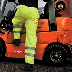 Result Adult's High Visibility Safety Trouser