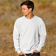 Fruit of the Loom Adult's Lightweight Raglan Sleeve Sweatshirt