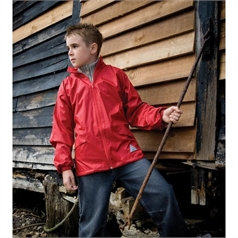 Result Kid's Windcheater Jacket in a Bag