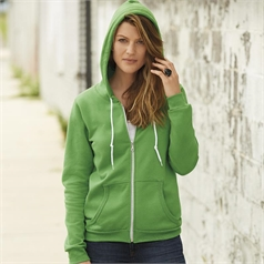 Anvil Ladies Full Zip Hooded Sweatshirt