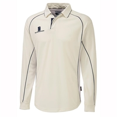 Surridge Men's Premier Long Sleeve Cricket Shirt