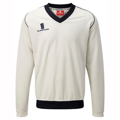 Surridge Fleece Lined Cricket Sweater
