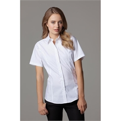 Kustom Kit Women's City Business Short Sleeve Blouse