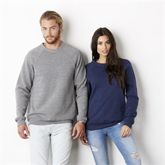 Bella and Canvas Unisex Sponge Fleec Fabric Crew Neck Sweatshirt
