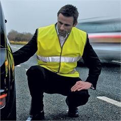 Result Safe Guard Motorist High Visibility Safety Vest