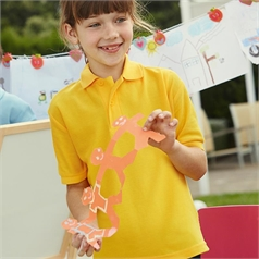 Fruit of the Loom Children's 60 Degree Wash Pique Polo Shirt