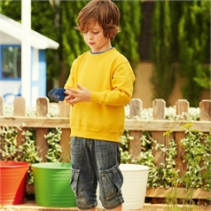 Fruit of the Loom Kid's Premium Set-In Sleeve Sweatshirt