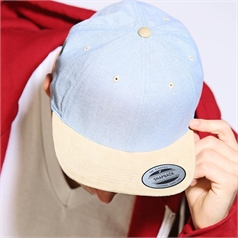 Yupoong Flexfit Adult's Chambray Suede Snapback Cap