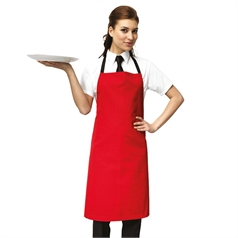 Premier Polyester And Cotton Pocketless Bib Apron