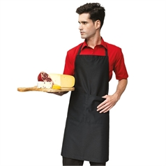 Premier Polyester And Cotton Pocket Bib Apron
