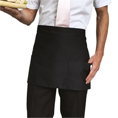 Premier 3 Open Pocket Waist Bar Apron