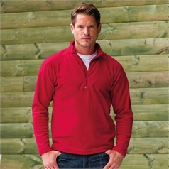Russell Adult's Quarter Zip Microfleece Top