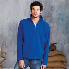 Kariban Men's Enzo ¼ Zip Fleece Top