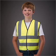Yoko Children's High Vis 2 Band and Brace Waistcoat - HVW100CH
