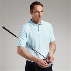 Glenmuir Men's Machine Wash Golf Pique Polo Shirt