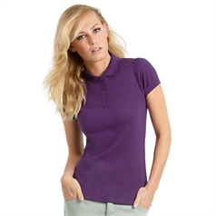 B&C Collection Women's Heavymill Polo Shirt