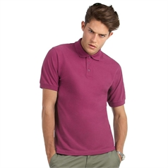 B&C Collection Men's Heavymill Polo Shirt