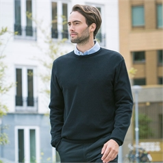 Henbury Men's Crew Neck Jumper