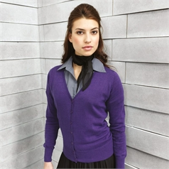 Premier Women's Knitted Button Through Cardigan