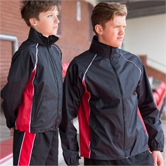 Finden Hales Men's Piped Showerproof Training Jacket