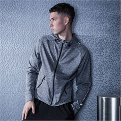 Tombo Teamsport Lightweight Reflective Running Hoodie