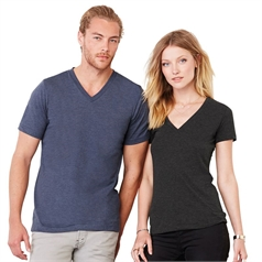 Bella Canvas Adult's Jersey V-Neck T-Shirt