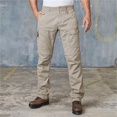 Kariban Men's Zip Off Leg Multi Pocket Trousers