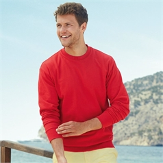 Fruit of the Loom Adult's Lightweight Set in Sleeve Sweatshirt