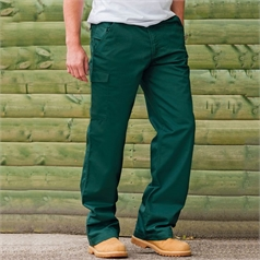 Russell Men's Poly/Cotton Twill Workwear Trousers
