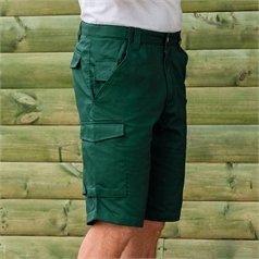 Russell Men's Poly/Cotton Twill Workwear Shorts