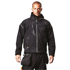 Snickers Men's Profiling Windproof Soft Shell Work Jacket