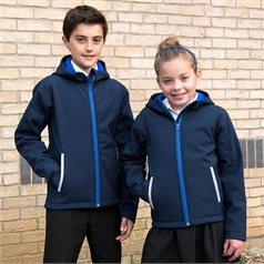Result Core Children's TX Performance Softshell Hooded Jacket