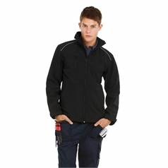 B&C Collection Men's 3 Layer Shield Pro Softshell Jacket