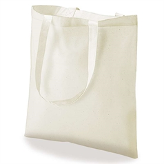 Promo Bags 100% Cotton Promotional Shoulder Shopper Bag