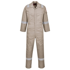 Portwest BizFlame Flame Resistant Anti-Static Lightweight Coverall
