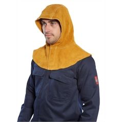 Portwest Adult's Leather Welders Hood