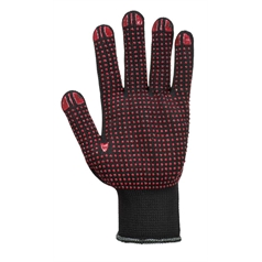 Portwest Nylon PVC Polka Dot Glove - A110