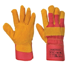 Portwest Work Fleece Lined Insulated Rigger Glove