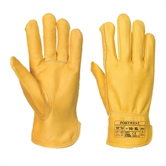 Portwest Premium Lined Leather Drivers Gloves