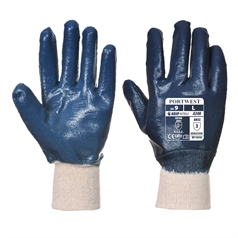 Portwest Nitrile Fully Coated Knitwrist Glove