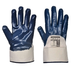 Portwest Grip Heavyweight Nitrile Safety Cuff Glove