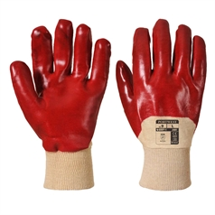 Portwest Grip Adult's Open Back PVC Venti Glove
