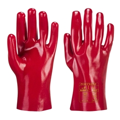 Portwest Fully Coated 27cm PVC Gauntlet Glove