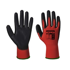 Portwest Sharp Adult's PU Red Cut 1 Glove