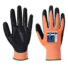 Portwest Sharp Adult's Nitrile Foam Amber Cut 3 Glove