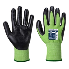 Portwest Sharp Adult's Nitrile Foam Green Cut 5 Glove