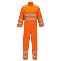 Portwest Adult's Flame Resistant Hi Vis Araflame Multi Coverall